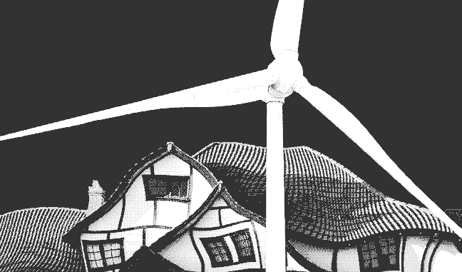Heat your House with a Mechanical Windmill | LOW←TECH MAGAZINE