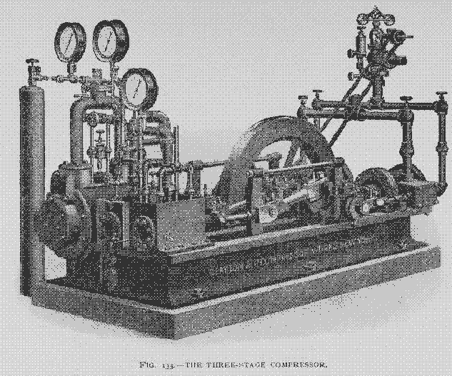 hiscox three stage compressor