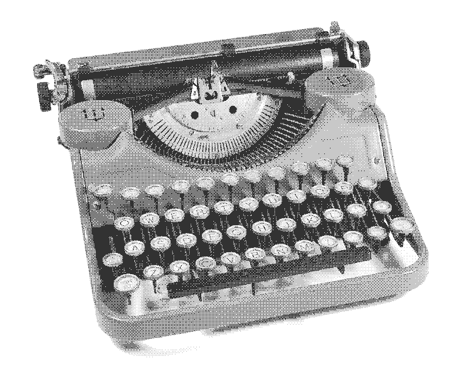 image underwood portable typewriter